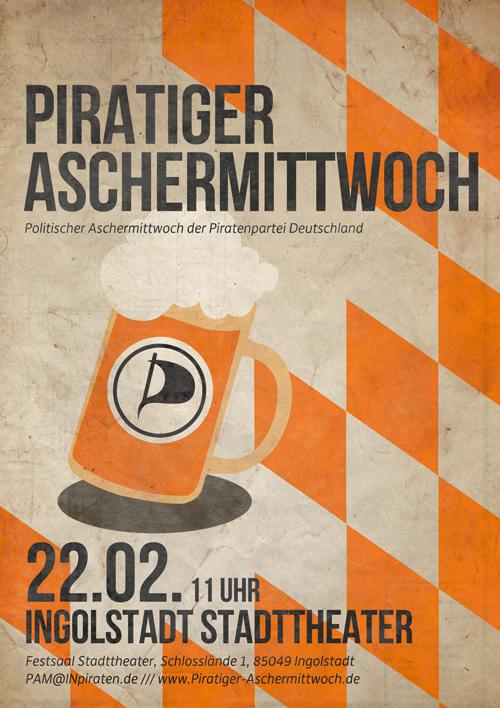 Piratiger Aschermittwoch 2012