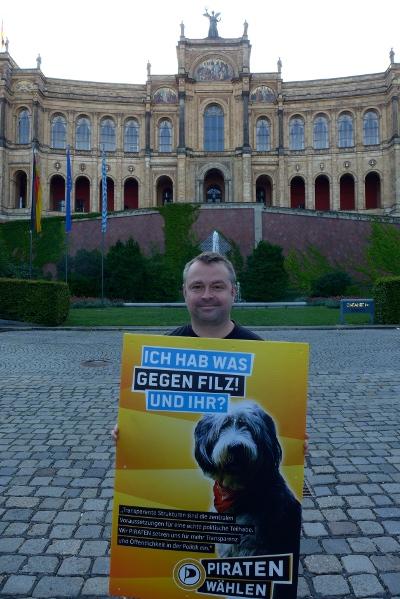 Alexander Kohler, Landtagskandidat im Stimmkreis 106 (Pasing)